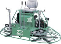 multiquip trowel machine